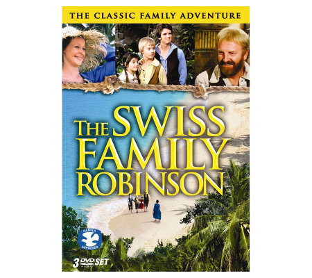 The Swiss Family Robinson, Complete Series, 3-Disc DVD Set