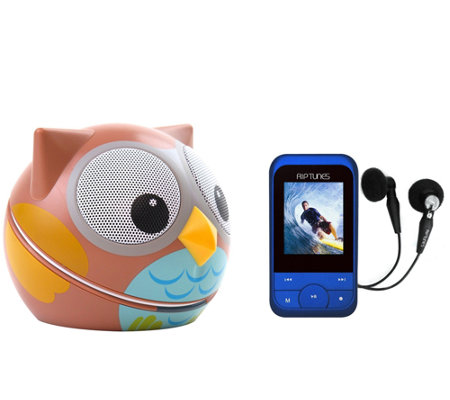 Animal Portable Speaker by ZooTunes w/ RipTunes MP3 Player