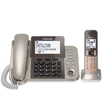 Panasonic Digital Phone & Answering System w/ 1Handset - E283363