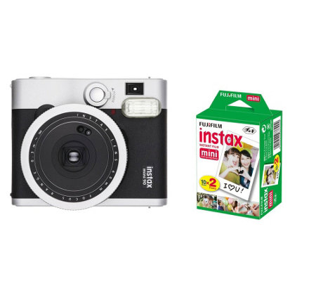 Fuji Instax Mini 90 Neo Classic with 20-Pack Film