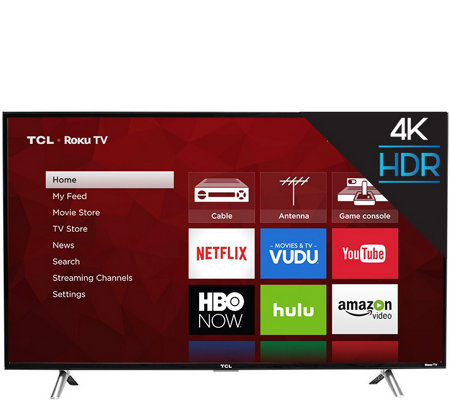 "TCL 43"" Smart 4K 120Hz HDR Ultra HDTV with Roku"