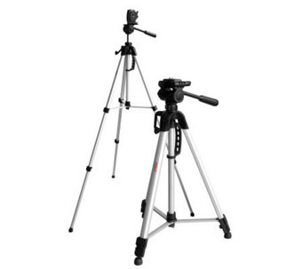 "DigiPower 66"" Tripod with 3-way Pan Head - E243964"