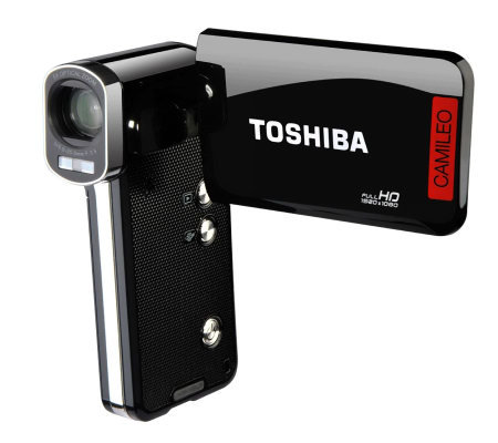 "Toshiba Camileo P100 Digital Camcorder - 3"" LCD- Touchscreen"