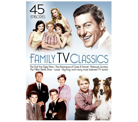 Family TV Classics (45 Episodes) DVD