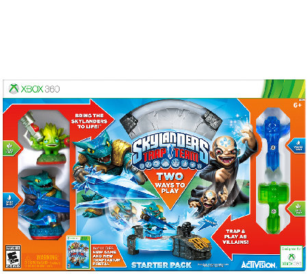 Skylanders Trap Team Starter Kit - Xbox 360