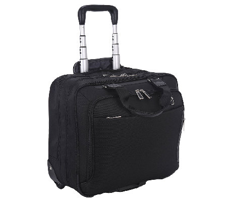 "Eco Style 15.6"" Rolling Laptop/Tablet CarryingCase"