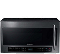 Samsung 2.1 Cu. Ft. Over-the-Range Microwave with Multi Senso - E285864