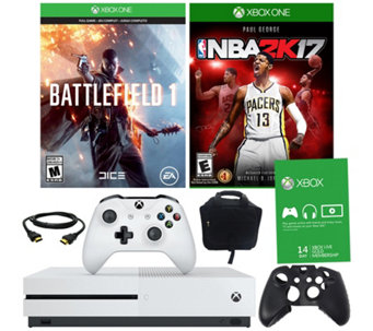 Xbox One S 500GB Battlefield 1 Bundle With NBA2K17 - E290264