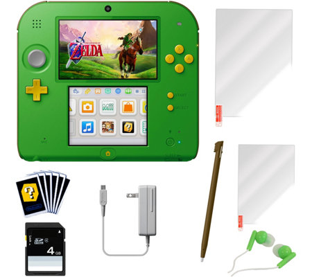 Nintendo 2DS Link Edition & Legend of Zelda: Ocarina of Time