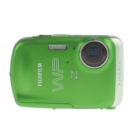 "FujiAll-Weather 10MP, 3X Zoom Rechargeable Digital Camera w/2.7""DiagLCD"