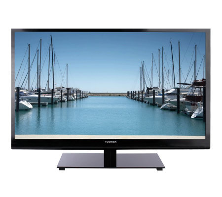 "Toshiba46""Diag. Ultra Slim1080p High-Def. 120Hz LED/LCD TV w/ Wi-Fi & Net TV"