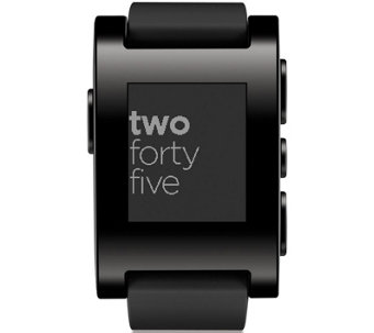 Pebble Classic Smartwatch for iPhone & Android Phones - E228365