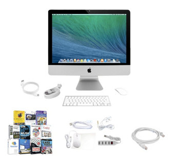 "Apple 21"" iMac Intel Core i5 8GB RAM 500GB HDD & Software Suite - E229865"
