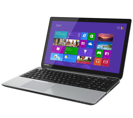 "Toshiba 15.6"" Touch Notebook - AMD Quad-Core, 6GB, 750GB HD"