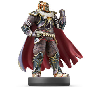 Ganondorf Super Smash Bros. Series Amiibo - E284565