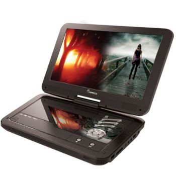 Impecca 10.1 Portable DVD Player and Media Player