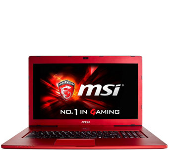 "MSI GS70 17"" Gaming Computer - Core i7, 16GB RAM, GTX 970M - E288865"