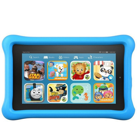 "Amazon Fire Kids Edition 7"" 8GB Wi-Fi Tablet with Case"