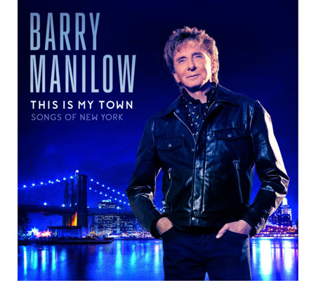 Barry Manilow This Is My Town Songs of New York CD With Bonus CD