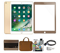 "Apple iPad 9.7"" 32GB Wi-Fi Bundle w/ Bluetooth Keyboard & More - E231566"