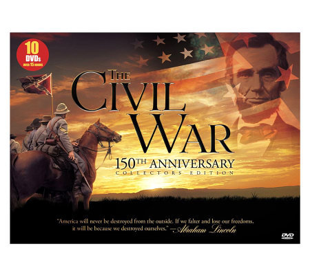 The Civil War, 150th Anniversary Collection  -10-Disc DVD Set