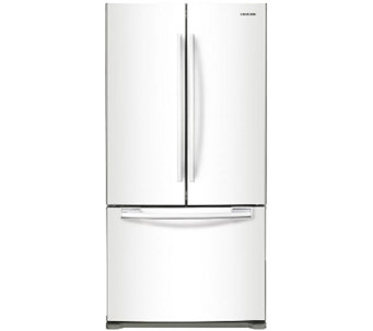 Samsung 18' Counter-Depth French Door Refrigerator - White - E285766