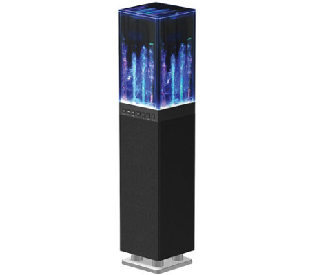 SuperSonic Bluetooth Water Dancing Mini Tower Speaker