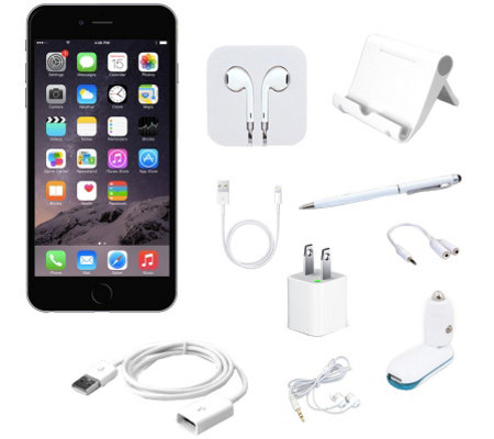 Apple iPhone 6 Plus 64GB Unlocked Smartphone w/ Accessories