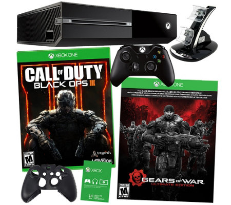 Xbox One 500GB Gears of War Bundle with Black Ops 3