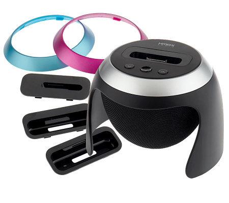 Homedics Hmdx Audio 360 Degree Speaker Dock Amp Charger For