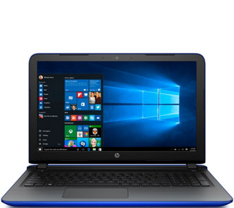 "HP 17"" Laptop AMD Quad Core 6GB RAM 1TB HDD DVD Drive & Life Time Tech - E229767"