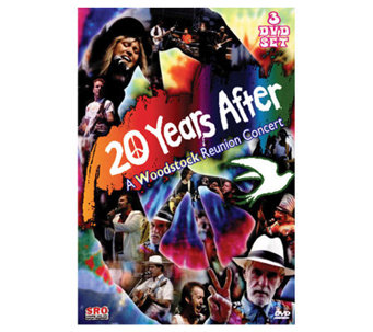 20 Years After: A Woodstock Reunion Concert, 3-Disc DVD Set - E265367