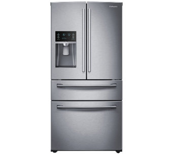 Samsung 28 Cubic Foot Counter-Height 4-Door Refrigerator - E277667