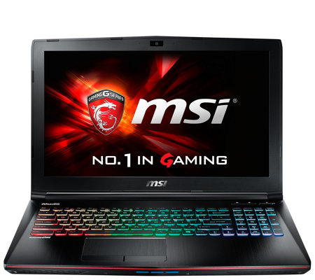 "MSI 15"" GE62 Gaming Computer - Core i7, 16GB RAM, GTX 960M"