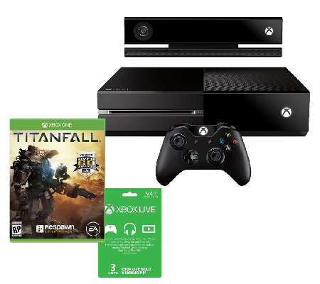 Xbox One with TitanFall Bundle & Bonus 3-mont hXbox Live