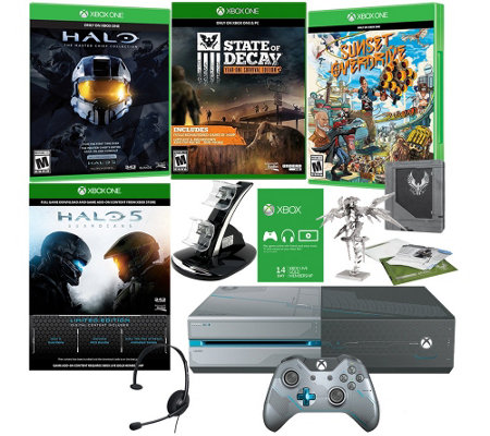 Xbox One 1TB Halo 5 Guardians Bundle with 3 Additional Games