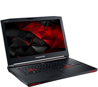 "Acer Predator 17"" Laptop HD Intel Core i7 16GB RAM 1TB HD 256 SSD, Nvidia - E230269"