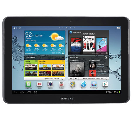 "Samsung Galaxy 2 10.1"" Tablet - 16GB w/ Wi-Fi &Bluetooth"