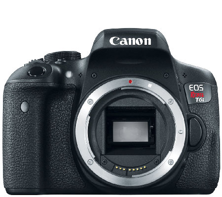 Canon EOS Rebel T6i Digital Camera Body with Wi-Fi & HD Video