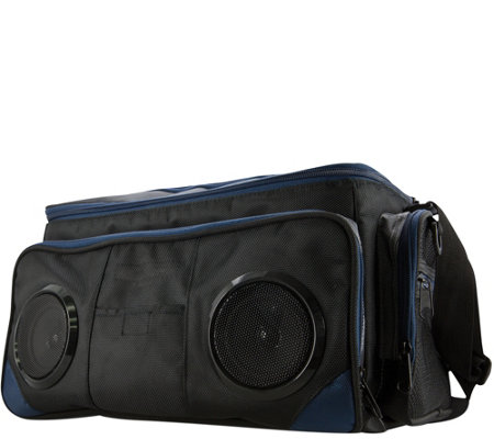 iLive Soft-Sided Cooler with Bluetooth Speakers