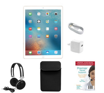 "Apple iPad Pro 9.7"" 128GB Wi-Fi + Cellular withAccessories - E289269"