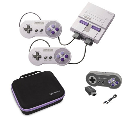 Nintendo Super NES Classic with Wireless Controller & Case