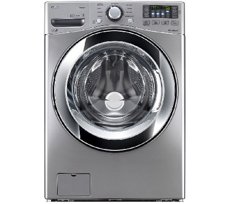 LG 4.3 Cu. Ft. Graphite Front Load Washer w/ Steam Technology