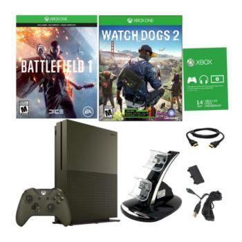 Xbox One S Special Edition Battlefield 1 Bundlew/ Watchdogs 2