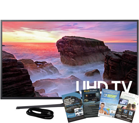 "Samsung 65"" Smart 4K Ultra HDTV with HDMI andApp Pack"