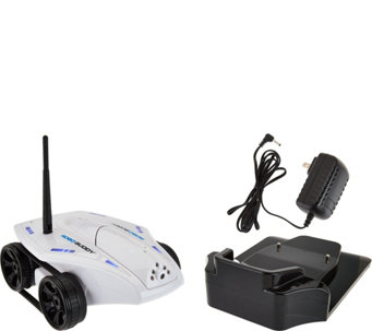 Robo Buddy Mobile Robot Streaming Video 2-Way Audio w/ Night Vision - E229871