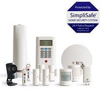 SimpliSafe 13 Piece Home Security System w/ HD Camera & Smoke Detector - E231171