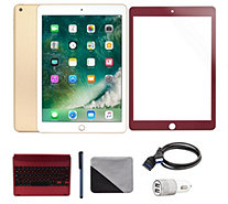 "Apple iPad 9.7"" 32GB WiFi Tablet with Keyboard and Accessories - E231471"