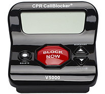 CPR Call Blocker with 3 Inch Display & 6500 Number Blocking - E231671