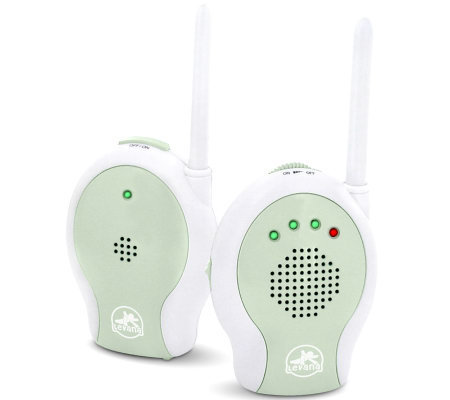 levana wireless audio baby monitor with sound indicator. Black Bedroom Furniture Sets. Home Design Ideas